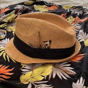 Accessories - Straw Fedora Hat